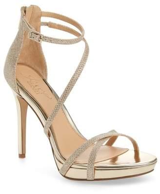 2783ae29847 Badgley Mischka Galen Strappy Platform Sandal (Women)