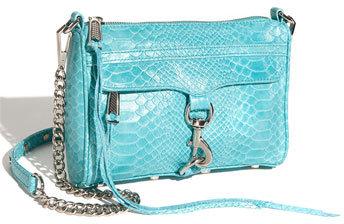 Rebecca Minkoff 'Mini MAC' Snake Print Shoulder Bag