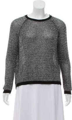 Mason Long Sleeve Metallic Sweater