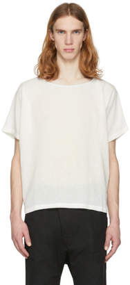 Off-White Jan-Jan Van Essche Linen Mesh T-Shirt