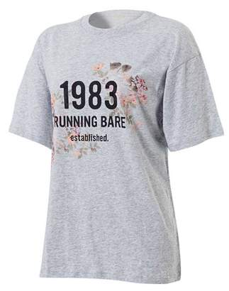 Running Bare Women's Two Tribes 90's Relax Tee