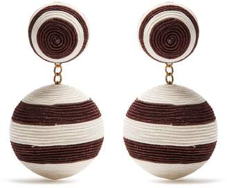 REBECCA DE RAVENEL Pepper drop earrings