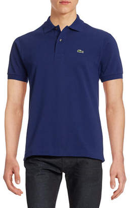Lacoste Classic-Fit Solid Cotton Polo