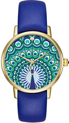 Peacock metro watch $195 thestylecure.com