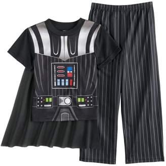 Star Wars Dress Like Darth Vader Caped Pajama for boys