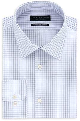 Bloomingdale's The Men's Store at Tattersall-Check Slim Fit Dress Shirt - 100% Exclusive