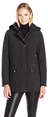 Kenneth Cole Women's Soft Shell with Interior Puffer Lining $35.14 thestylecure.com