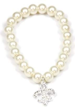 House Of Tam Fleur-De-Lis Pearl Bracelet