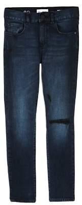 DL1961 Boys' Dark-Wash Distressed Hawke Skinny Jeans - Big Kid