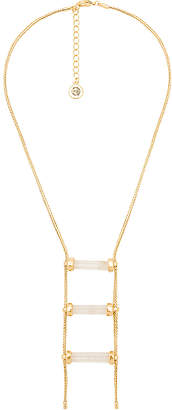 House Of Harlow Triple Crystal Necklace