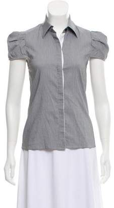 Alice + Olivia Short Sleeve Button-Up Top w/ Tags