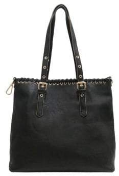 Chinese Laundry Harper Faux Leather Whipstitch Tote