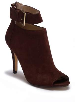 Adrienne Vittadini Gail Ankle Strap Suede Bootie