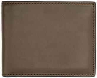 Rag & Bone Brown Hampshire Billfold Wallet