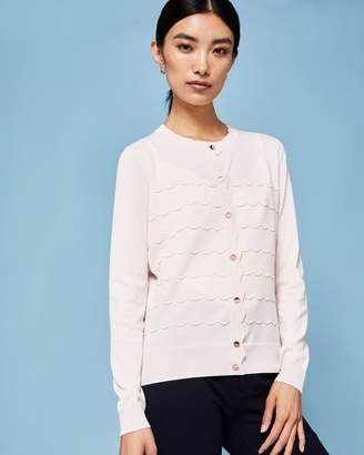 Ted Baker CHERELL Scalloped detail cardigan