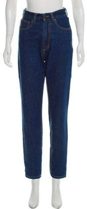 Fiorucci High-Rise Skinny Jeans