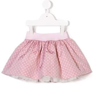 MonnaLisa polka dot skirt