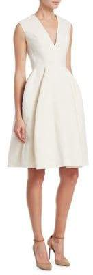 DELPOZO Fil Coup Cotton Dress