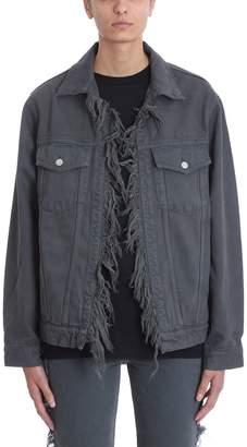 IRO Motivation Fringes Grey Jacket