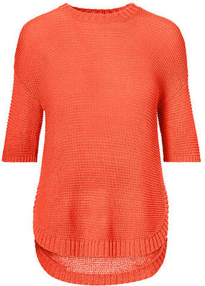 Ralph Lauren Short-Sleeve Crewneck Sweater $89.50 thestylecure.com