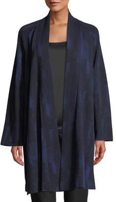 Eileen Fisher Reflections Jacquard Jacket, Plus Size