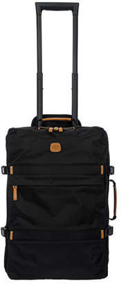 """Bric's X-Travel 21"""" Montagna Carry-On Trolley Luggage"""