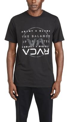 RVCA Va Sport Brand Over Balance Short Sleeve Tee