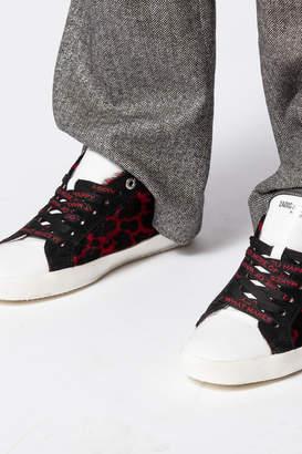 Zadig & Voltaire Zadig Leo Flower Sneakers