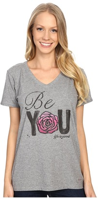 Life is good Be You Rose Crusher Vee $24 thestylecure.com