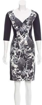 Stella McCartney Floral Print-Paneled Dress