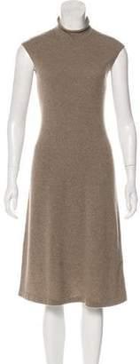 Ralph Lauren Black Label Cashmere Midi Dress
