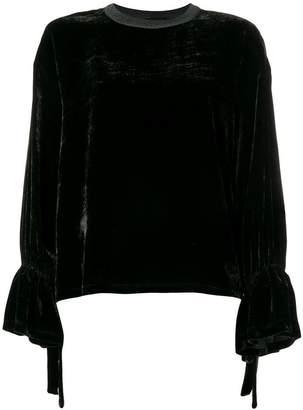Roberto Collina velvet sweater