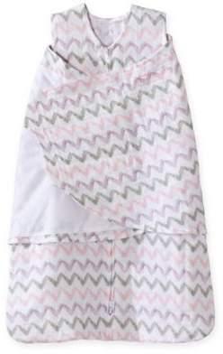 HALO® SleepSack® Chevron Muslin Multi-Way Swaddle in Pink/Grey $24.99 thestylecure.com