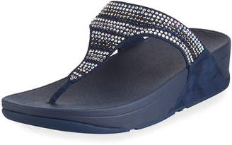 FitFlop Strobe Luxe Thong Platform Sandal