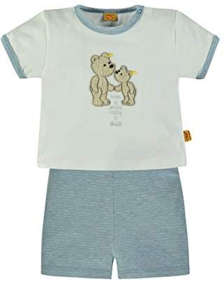 Steiff 2tlg T-Shirt 1/4 Arm + Shorts 6836705 Clothing Set,6-9 Months