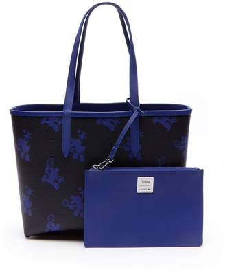 Lacoste Holiday Collection Minnie Shopper Tote Bag - Blue