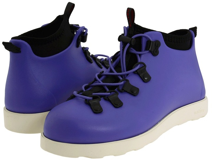 Native Fitzsimmons (Youth) (Jellybean Purple) - Footwear