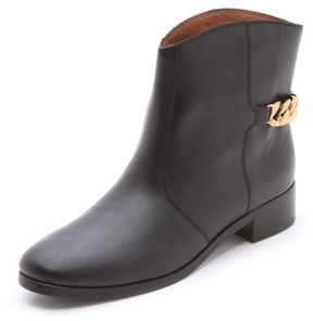 See by Chloe Chain Flat Booties
