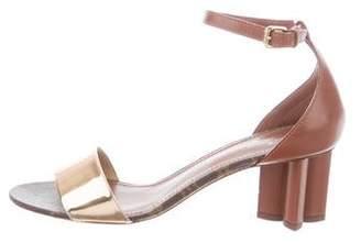 Louis Vuitton Monogram Ankle Strap Sandals