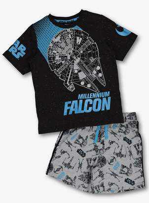 Star Wars Tu Disney Multicoloured Glow In The Dark Pyjama Set -