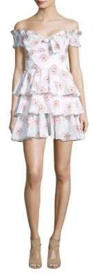 Caroline Constas Helena Fit-&-Flare Dress