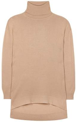 Balenciaga Wool and cashmere turtleneck sweater