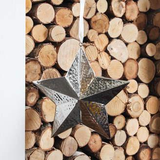 Marquis & Dawe Silver Hanging Star Decoration