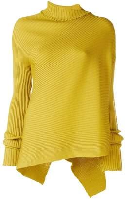 Marques Almeida Marques'almeida asymmetric diagonal knit sweater