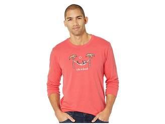 Life is Good Jake Hammock Grill Crusher Long Sleeve T-Shirt