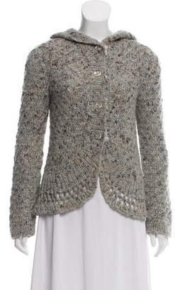 Rebecca Taylor Knit Long Sleeve Cardigan