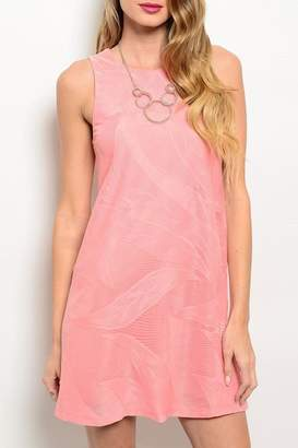 Adore Clothes & More Coral Summer Dress