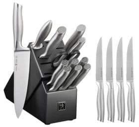 Zwilling J.A. Henckels 13-Piece Block with 4-Piece Steak Knives Set