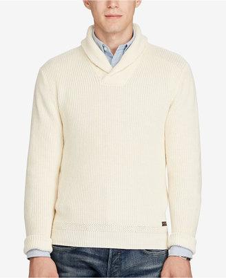 Polo Ralph Lauren Men's Shawl-Collar Sweater $145 thestylecure.com