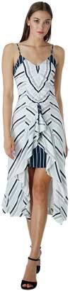 Adelyn Rae Ava Striped Midi Dress